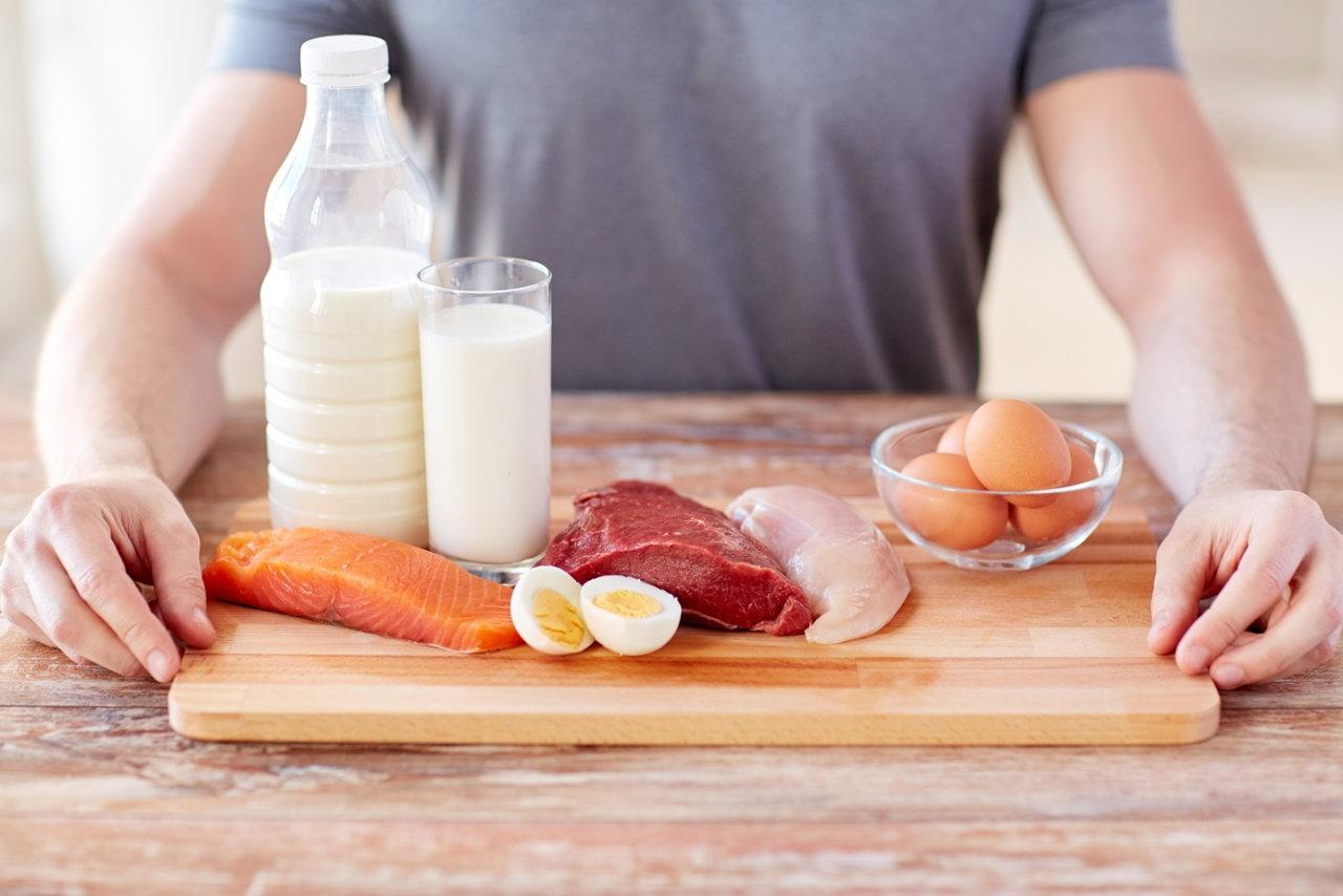 タンパク質の適量
